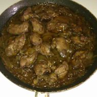 Kuřecí játra na cibuli recept