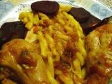 Stehýnka na červené řepě s česnekem recept