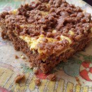 Strouhaný tvarohový koláč recept