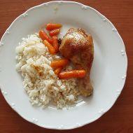 Kuře na baby karotce a medu recept