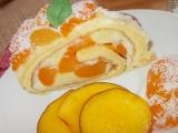 Meruňková roládka s pudingem recept