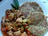 Ovesňáčky s kuřecí minutkovou směsí recept