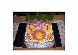 Slaný dort  smailík recept