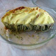 Zapékané palačinky se špenátem recept