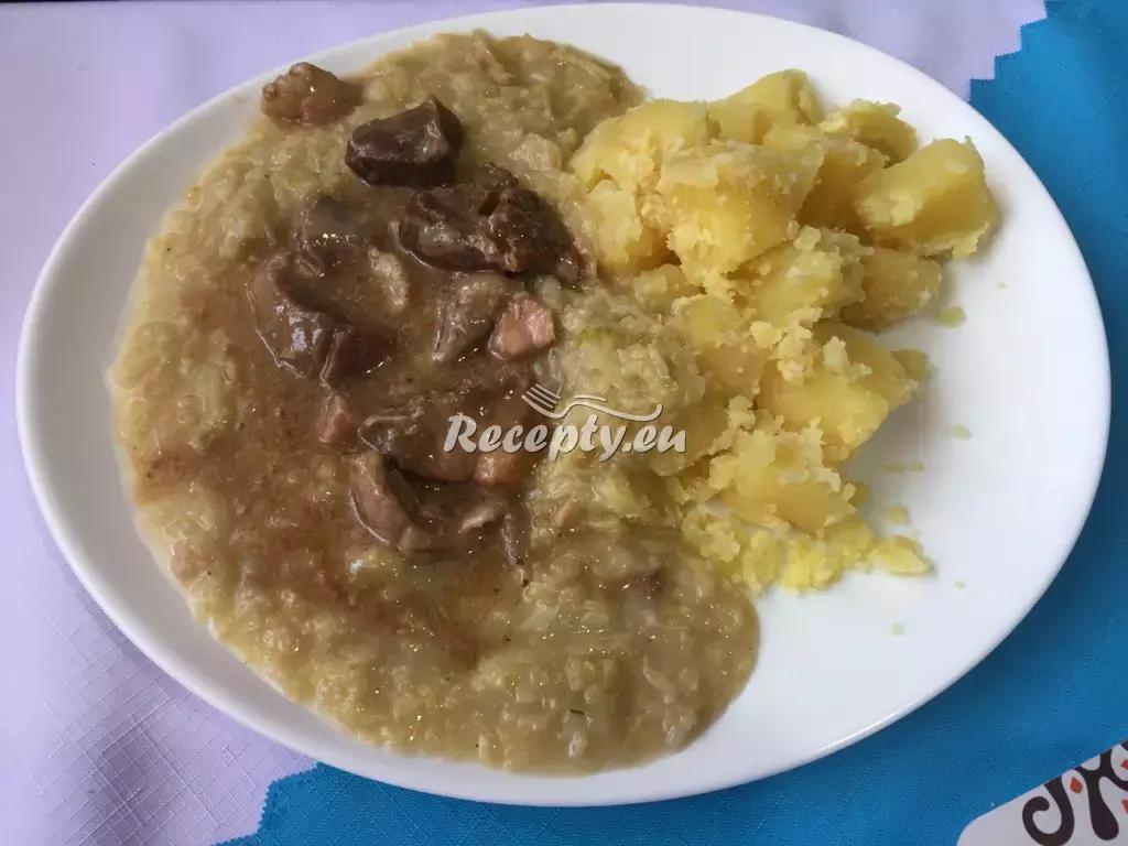 Zadělávaná kapusta s bramborami recept  zeleninové pokrmy ...