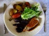 Pečená přílohová zelenina recept