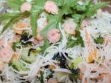 Chlazený nudlový japonský salát recept