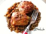 Kuře s čočkou recept