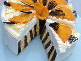 Rolovaný pomerančový dort recept