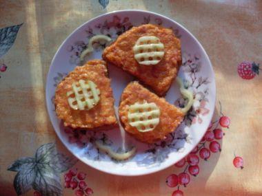 Chleba se sýrovou směsí