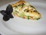 Kozí slaný koláč se zeleninou recept