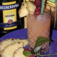 Malinový Becher  koktejl recept
