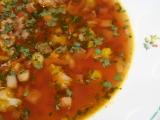Černá polévka recept