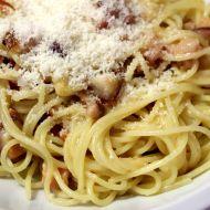 Pravé spaghetti alla carbonara recept