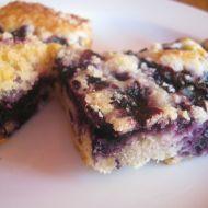 Koláč s borůvkami a drobenkou recept