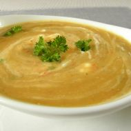 Krémová čočková polévka se smetanou recept