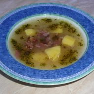 Uzená polévka z žebírek recept