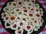 Vánoční sušenky s vitráží recept