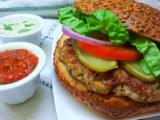 Kuřecí burger podle Aishy recept
