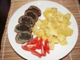 Špenátová roláda z mletého masa recept