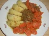 Myslivecké vepřové s mrkví recept