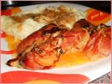 Buřtíky s cibulí a Nivou recept