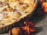 Lahodný hruškový koláč s mascarpone recept