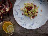 Salát z růžičkové kapusty, parmezánu a citrónu recept