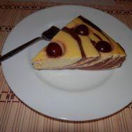 Fitness tvarohový dort recept
