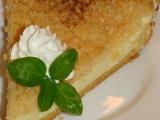 Tvarohový koláč s drobenkou recept