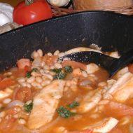 Kuřecí na fazolích recept