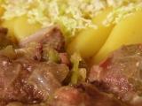 Hovězí v kapustě recept