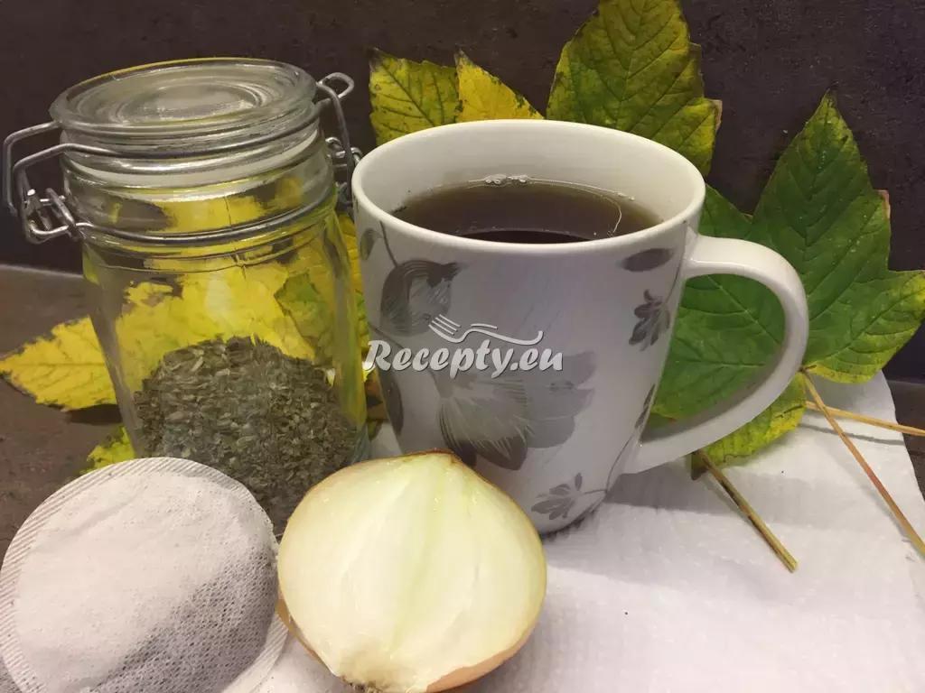 Majoránkový čaj proti kašli recept  teplé nápoje