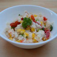 Výborná zeleninová rýže s kapií recept