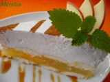Jablečný dortík se skořicovou pěnou  nepečený recept ...