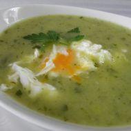 Jarní petrželová polévka s vejcem recept
