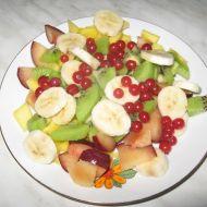 Ovocný salát se sýrem recept