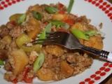 Vepřové s rýží a zeleninou recept