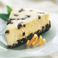 Borůvkový grahamový koláč recept
