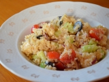 Řecký salát z quinoi recept