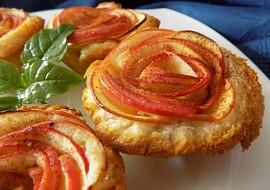 Jednoduché jablkové košíčky z toustového chleba recept ...