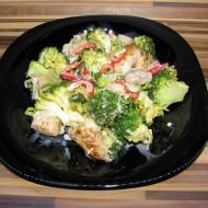 Krůtí prsa s brokolicí a žampiony recept