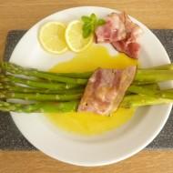 Chřest ve slanině s holandskou omáčkou recept
