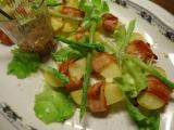 Pečené brambory ve slanině s chřestem recept