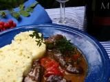 Hovězí dušené na víně a tymiánu recept