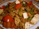 Špaldové mušličky s tofu a zeleninou recept