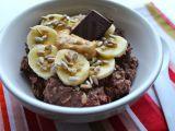 Kakaová ovesná kaše s banánem recept