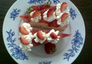 Majolkový koláč s ovocem