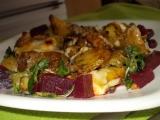 Zapečená směs z brambor, sýrů a hub recept