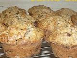 Špaldové čokobanánové muffiny recept